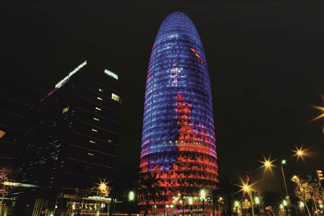 Mitsubishi Electric Climatización Proyecto de reforma Torre Glòries